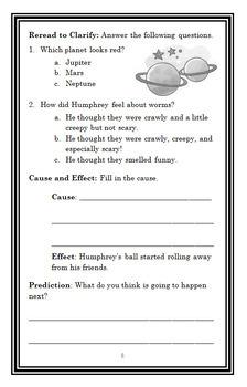 Humphrey's Tiny Tales BUNDLE (Betty G. Birney) 4 Novel Studies : Books #1-4
