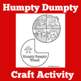 Humpty Dumpty Craft | Humpty Dumpty Activity | Preschool Craft