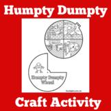 Humpty Dumpty   Craft Activity   Preschool Kindergarten  