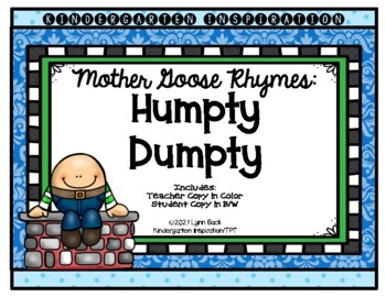 Mother Goose Rhymes Humpty Dumpty