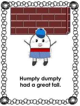 Humpty Dumpty Activities (Sample)