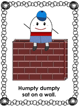 Humpty Dumpty Activities (Sample)