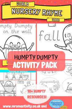 Humpty Dumpty Activity Resource Pack