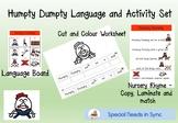 Humpty Dumpty Activity set
