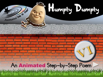 Humpty Dumpty - Animated Step-by-Step Poem - VI