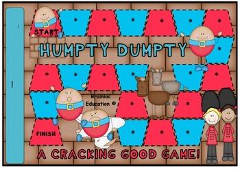 Humpty Dumpty Blank Board Game (EDITABLE)
