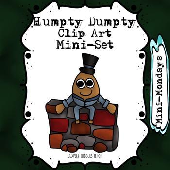 Humpty Dumpty Clip Art: Mini Set