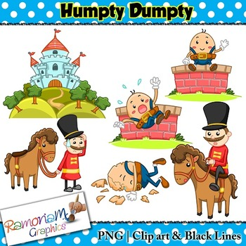humpty dumpty clip art by ramonam graphics teachers pay teachers rh teacherspayteachers com humpty dumpty pictures clip art humpty dumpty wall clipart
