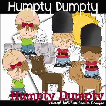 Humpty Dumpty Clipart Collection