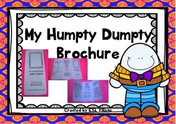 Humpty Dumpty Foldable Brochure