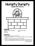 Humpty Dumpty Craft Activity