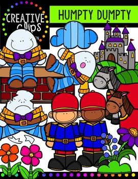 Humpty Dumpty {Creative Clips Digital Clipart}