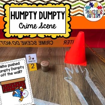 Humpty Dumpty Crime Scene