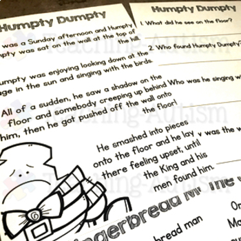 Humpty dumpty crime scene by teaching autism teachers pay teachers humpty dumpty crime scene pronofoot35fo Image collections