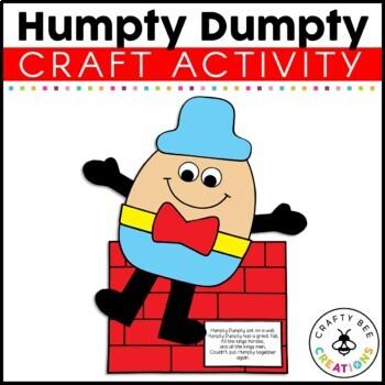 Humpty Dumpty Cut and Paste
