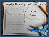 Humpty Dumpty Cut and Paste Activity