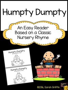 Sight Word Reader - Humpty Dumpty -BW