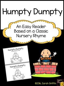 Sight Word Reader - Humpty Dumpty - Decodable Book - BW