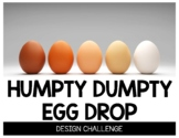 Humpty Dumpty Egg Drop STEM Design Challenge