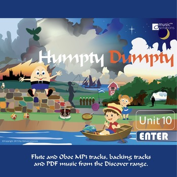 Humpty Dumpty Flute And Oboe MP3 And PDF Unit 10.