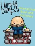 Humpty Dumpty Interactive Book and Activities