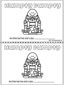 Humpty Dumpty {Interactive Reader}