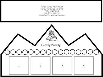 Humpty Dumpty Language Arts and Math Activities