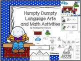 Humpty Dumpty Language Arts and Math Activities