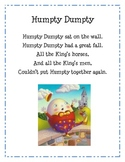 Humpty Dumpty (Learn with a favorite rhyme)