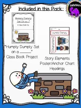 Humpty Dumpty Literacy Activity Pack