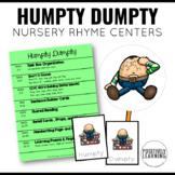 Humpty Dumpty Literacy Centers