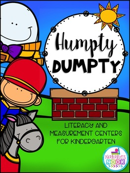 Humpty Dumpty {Literacy and Measurement Centres for Kindergarten}