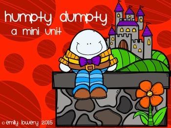 Humpty Dumpty Mini Unit