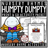 Humpty Dumpty Nursery Rhyme for Kindergarten: Nursery Rhyme Activities