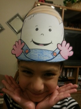 Humpty Dumpty Nursery Rhyme Character Hat ELA Common Core