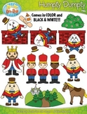 Humpty Dumpty Nursery Rhyme Clipart {Zip-A-Dee-Doo-Dah Designs}
