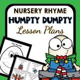 Humpty Dumpty Nursery Rhyme Lesson Plans