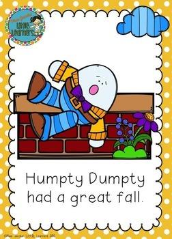 Humpty Dumpty: Nursery Rhyme Pack