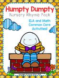 Humpty Dumpty Nursery Rhyme Pack!