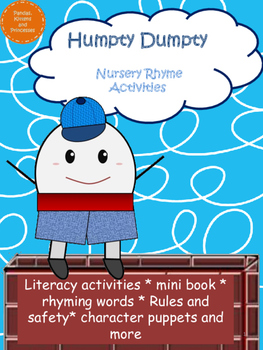 Humpty Dumpty Nursery Rhyme Activities