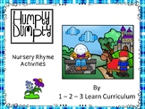 Humpty Dumpty Nursey Rhyme Magnet Activity