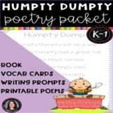 Humpty Dumpty Nursery Rhymes Poetry Packet