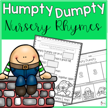 Humpty Dumpty Posters and Activities