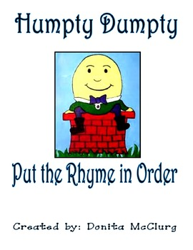 Humpty Dumpty - Put in Order