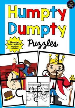 Humpty Dumpty Nursery Rhyme Puzzles