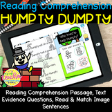 Humpty Dumpty Reading Comprehension BOOM CARDS!