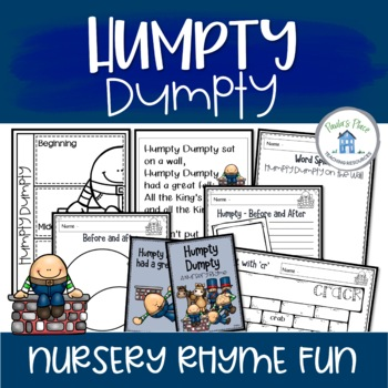 Humpty Dumpty – Reading and Writing Pack