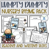 Humpty Dumpty Reading and Writing Pack