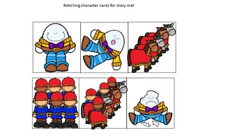 Humpty Dumpty Retell Packet