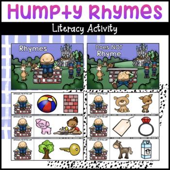Humpty Dumpty Rhyming Cards